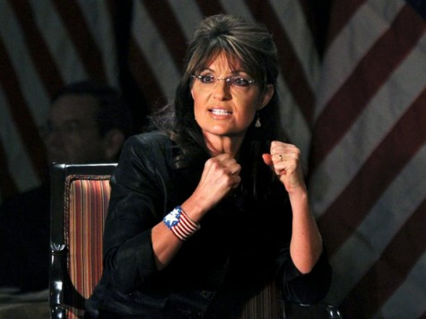 Palin Warns Holder on Gun Bracelets: 'You Don't Want to Go There, Buddy'
