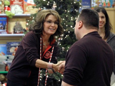 Palin: Even Congress Can't Stop 'Angry Atheists' from Removing Crosses from Veterans Memorials