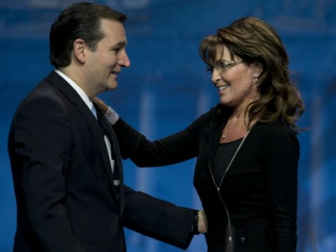 Palin: Release Names of Top Republicans Who Encouraged You to 'Trash' Cruz