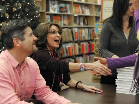 Palin Book Tour Heads to Heart of Battle Between GOP Establishment, Tea Party