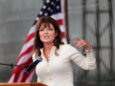 EXCLUSIVE–Palin Rips 'GOP High Roller Machine': 'Their Money Can't Buy Elections Anymore'