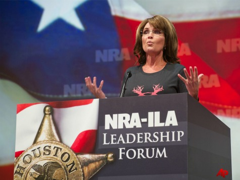 Palin at NRA Convention: 'Future of Freedom' at Stake