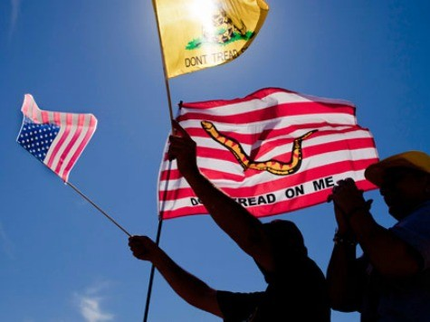 Levin Calls on Tea Party to Fight Tyranny in USA