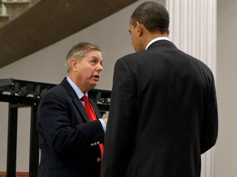 Lindsey Graham Boasts About Dinner with Obama