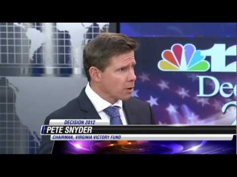 Lt. Gov Candidate Snyder Breaks Mold With Attack on McAuliffe