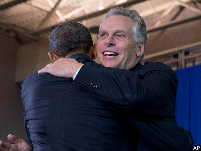 Cuccinelli: McAuliffe 'Scared to Death' Obamacare Sinking Campaign