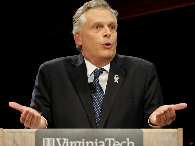 McAuliffe Risks Campaign with Joint Obama Appearance
