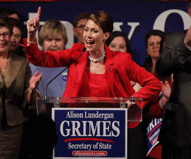 KY Dems Pin Hopes on Grimes, Despite Checkered Family History