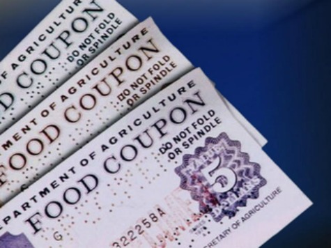 Report: Two Americans Enrolled in Food Stamps for Every Job Obama 'Created'