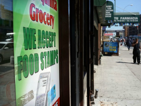 Food Stamp Enrollments Top 46 Million for 35 Months in a Row