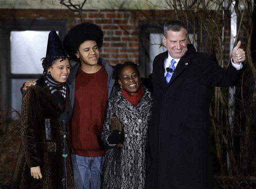 De Blasio Becomes Face of NYC Progressive Movement