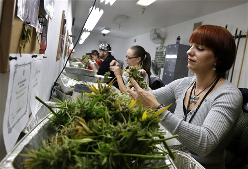 Shoppers Wait for Colorado Pot Shops to Open