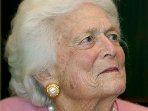 Barbara Bush Hospitalized in Houston