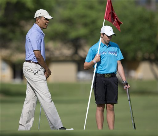 President Barack Obama's Hawaii Vacation: Day 13