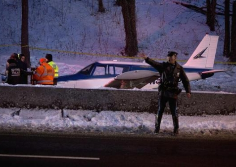 Small Plane Makes Emergency Landing on NYC Highway