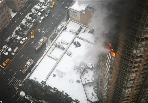 One Dead, One Injured in NYC High-Rise Fire