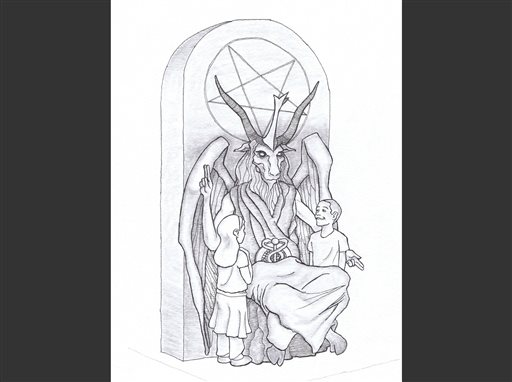 Group Unveils Satan Statue Design for Oklahoma