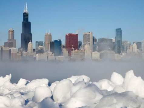 Polar Vortex: Great Lakes Freezing Over in 20-Year Record