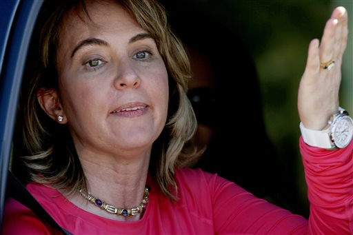 Gabby Giffords Completes Skydive on Shooting Anniversary