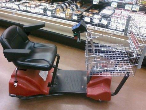 Police: Theft Suspect Fled on Motorized Shopping Cart