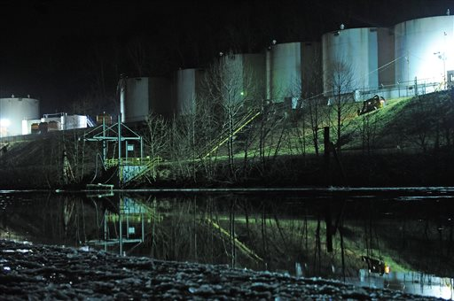 Chemical Spill Shuts Down Much of West Virginia Capital