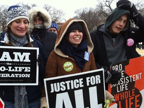 Snowstorm, Media Indifference Won't Stop March For Life