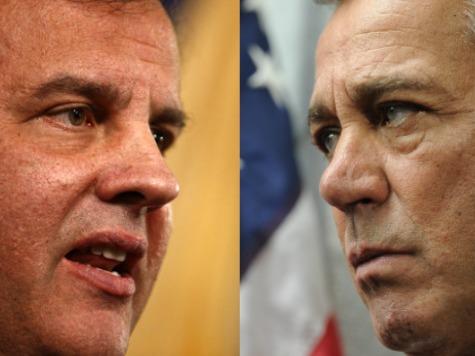 Boehner-Christie Feud Flare Up: Speaker Says BridgeGate 'Not Going Away'