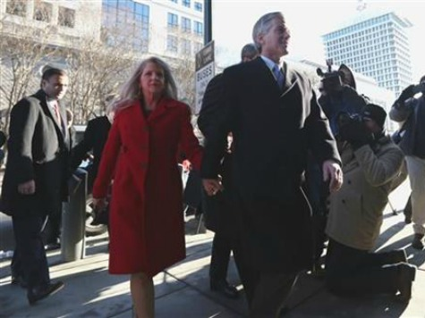 Former VA Gov, Wife Released on Own Recognizance