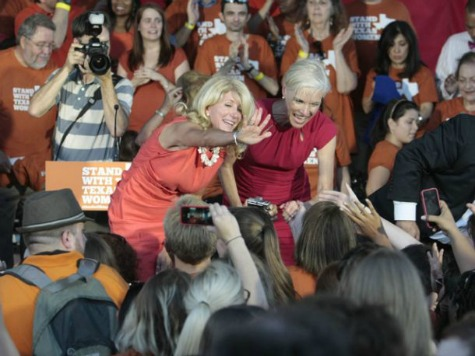 Wendy Davis Shares Stage with Planned Parenthood Director Amid Effort to Distance Self from Abortion