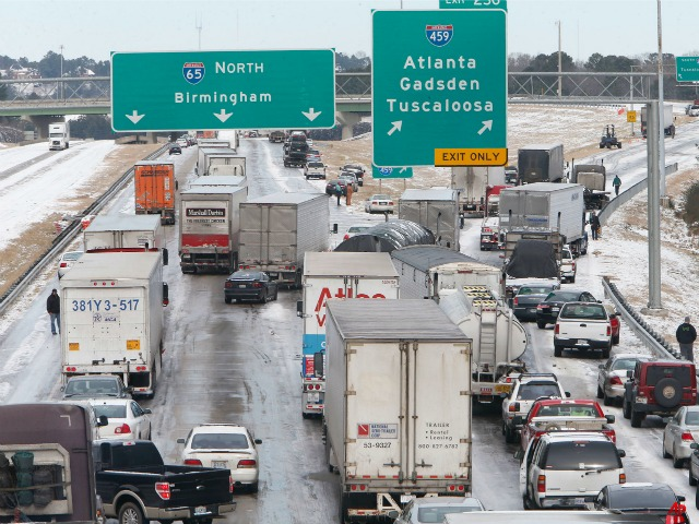 Snow Storm Hits South: Georgia and Alabama Frozen