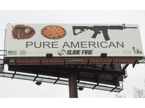 Chicago Billboard: Like Baseball, Apple Pie, AR-15s Are 'Pure American'