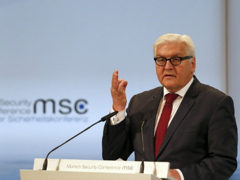 German Foreign Minister Announces Military Rearmament