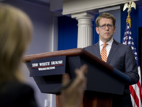 Jay Carney Denies IRS Corruption: Obama's 'Smidgen' Not a Gaffe