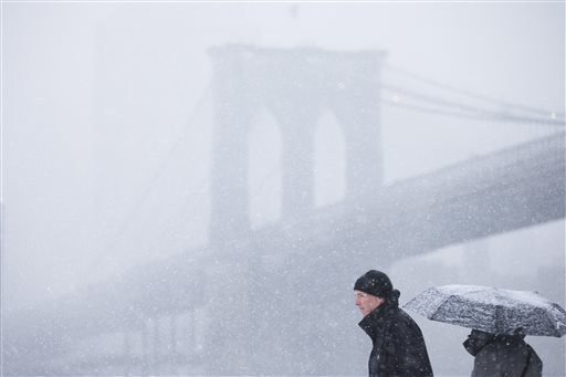 Second Wave of Wintry Weather to hit NY, Philadelphia