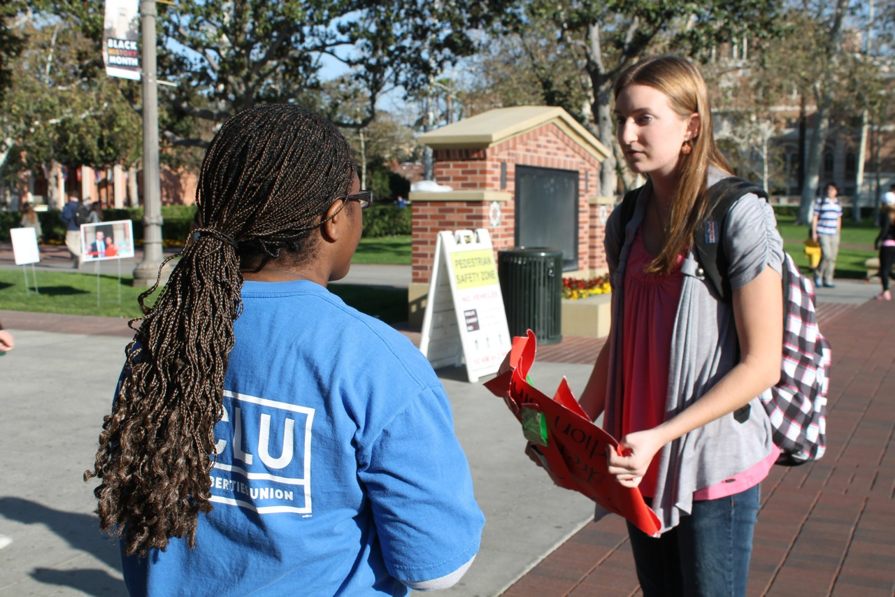 Pro-Life Students Take the High Road at USC