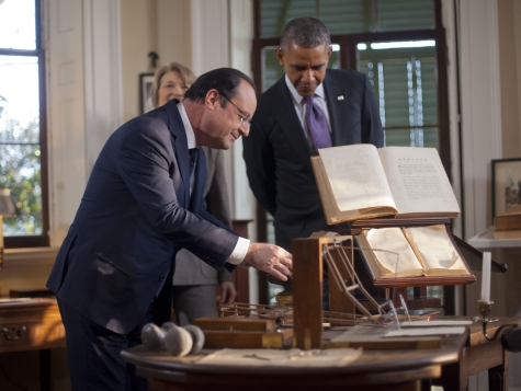 Obama Tells Hollande, 'As a President, I Can Do Whatever I Want'