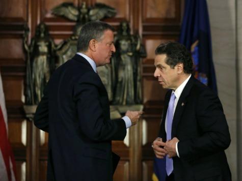 Tension Between NYC Mayor De Blasio and NY Gov. Cuomo Escalates