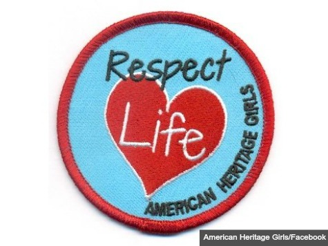 American Heritage Girls Introduces 'Respect Life' Patch for Pro-Life Service