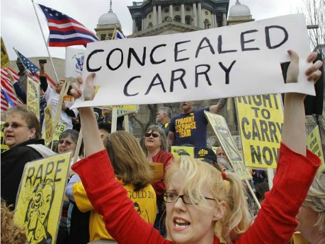 GA Lawmakers Vote on Expanding Concealed Carry to Churches, Bars, Airports
