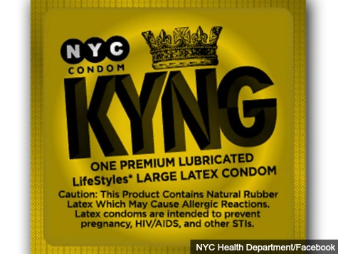 NYC's branded male condoms get new look, extra-large size
