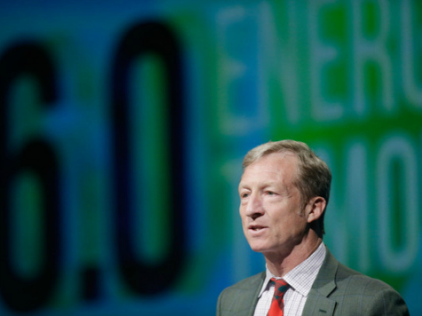 Green Billionaire Tom Steyer Claims 'Road to Damascus' Conversion from Coal