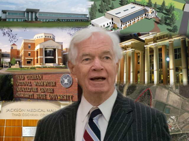Monument Man: Thad Cochran's Unbelievable Skill for Having Federally Funded Buildings Named After Him