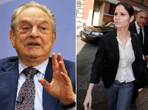 Soros Ex-Girlfriend Weeps in Court