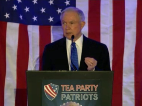 Jeff Sessions: Tea Party Is 'Right on Every Issue'