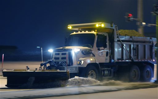 Wide range of wintry conditions affects half of US