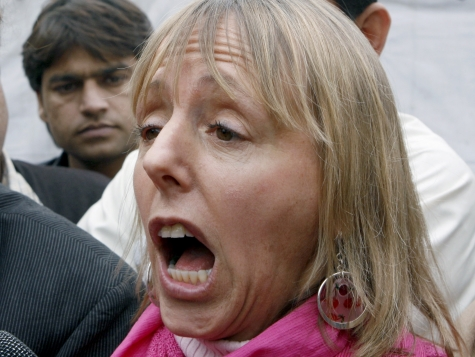 Medea Benjamin Jailed in Egypt, Claims Police Broke Her Arm