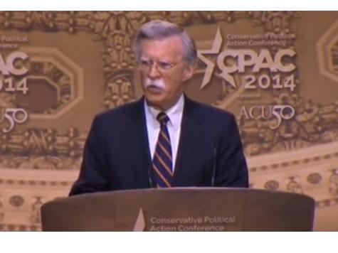 John Bolton at CPAC: Replace Obama's 'Drift, Decline, and Defeatism' with Reaganite 'Peace Through Strength'