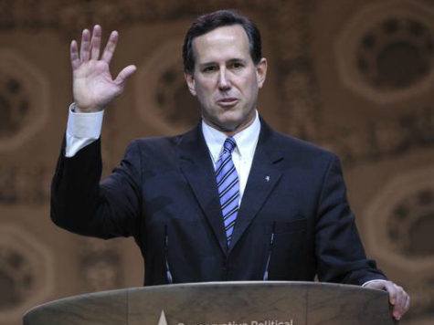 Santorum Talks About Faith-Based History, Populism, and Conscience Rights at CPAC