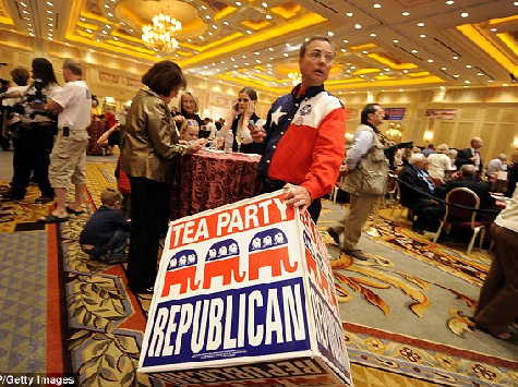 Tea Party v. Establishment Fight May Intensify if GOP Regains Senate