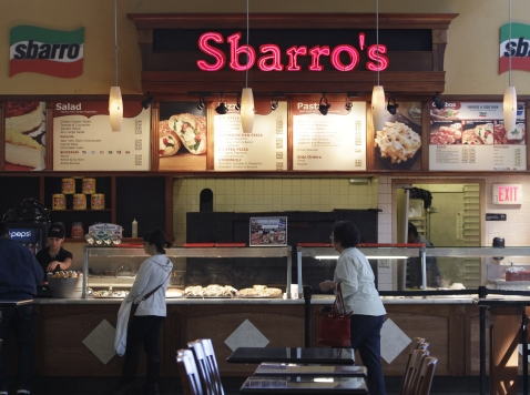 Pizza Chain Sbarro Shutters 230 Stores, Files for Bankruptcy